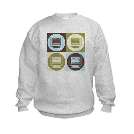 Desktop Publishing Pop Art Kids Sweatshirt