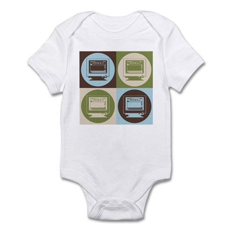 Desktop Publishing Pop Art Infant Bodysuit