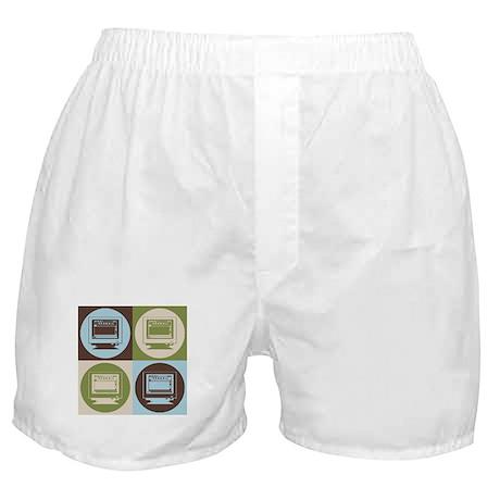 Desktop Publishing Pop Art Boxer Shorts