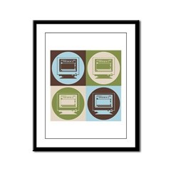 Desktop Publishing Pop Art Framed Panel Print