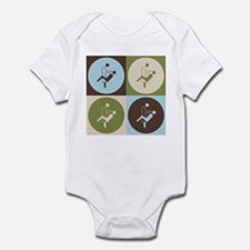 Dental Hygiene Pop Art Infant Bodysuit