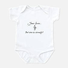 Jesus Saves...But... Infant Bodysuit