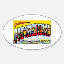 Provincetown Massachusetts Greetings Decal