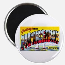 Provincetown Massachusetts Greetings Magnet