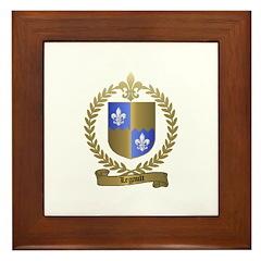 LEGAULT Family Crest Framed Tile