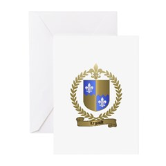 LEGAULT Family Crest Greeting Cards (Pk of 10)