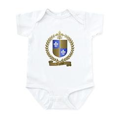 LEGAULT Family Crest Infant Creeper