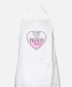 Lucky & Proud Mom BBQ Apron