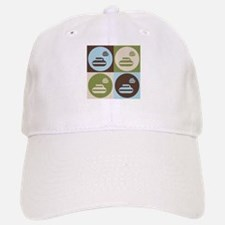 Curling Pop Art Baseball Baseball Cap