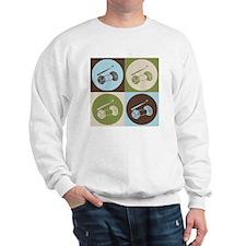 Crocheting Pop Art Sweatshirt