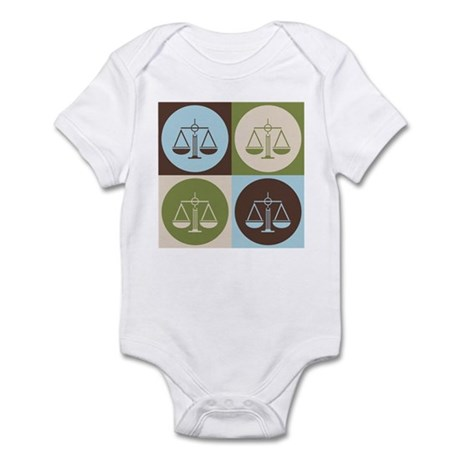 Criminal Justice Pop Art Infant Bodysuit
