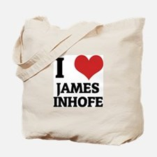 I Love James Inhofe Tote Bag