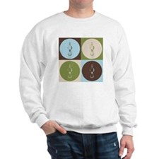 Crane Pop Art Sweater