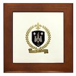 FORTIN Family Crest Framed Tile