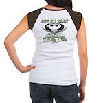 Human Test Subject Dugway Women's Cap Sleeve T-Shi