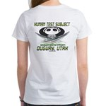 Human Test Subject Dugway Women's T-Shirt