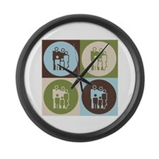Counseling Pop Art Large Wall Clock