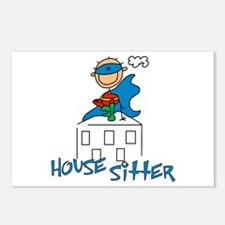 Boy Hero House Sitter Postcards (Package of 8)