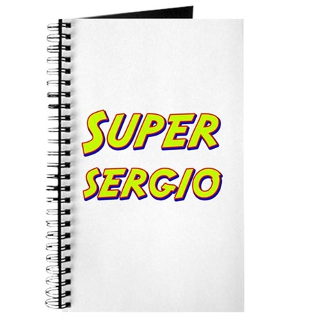 Super sergio Journal