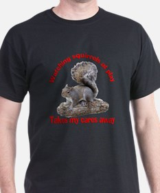 Squirrels at Play T-Shirt