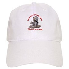 Squirrels at Play Baseball Cap