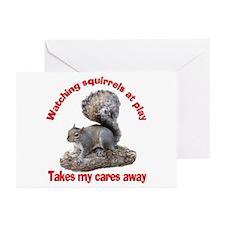 Squirrels at Play Greeting Cards (Pk of 10)