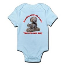 Squirrels at Play Infant Bodysuit