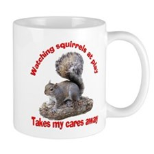 Squirrels at Play Mug