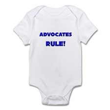 Advocates Rule! Infant Bodysuit