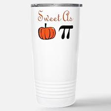 Sweet as Pumpkin Pi Stainless Steel Travel Mug