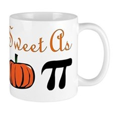 Sweet as Pumpkin Pi Mug