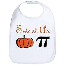 Sweet as Pumpkin Pi Bib