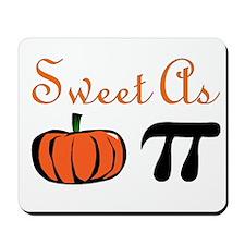 Sweet as Pumpkin Pi Mousepad