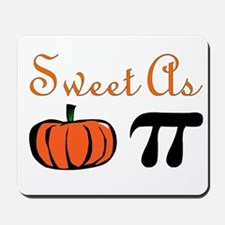 Sweet as Pumpkin Pi Mousepad
