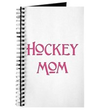 Hockey Mom pink text Journal