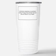 health warning #1 Travel Mug