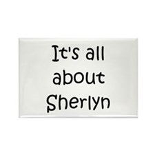 Funny Sherlyn Rectangle Magnet