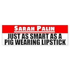 Pig Bumper Bumper Sticker