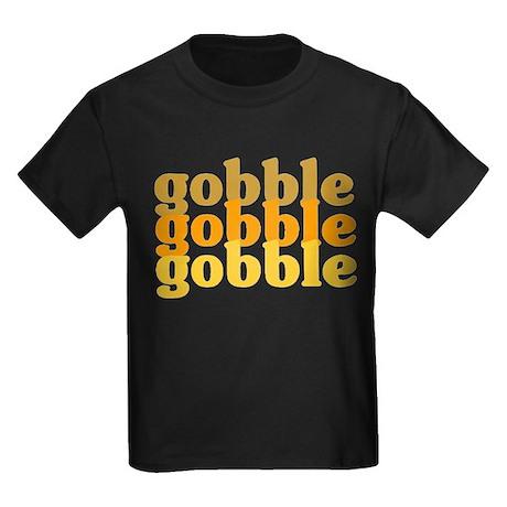 Gobble Gobble Gobble Kids Dark T-Shirt