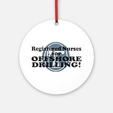 Registered Nurses For Offshore Drilling Ornament (