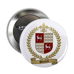 "DOUCETTE Family Crest 2.25"" Button (100 pack)"