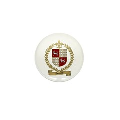 DOUCETTE Family Crest Mini Button (10 pack)