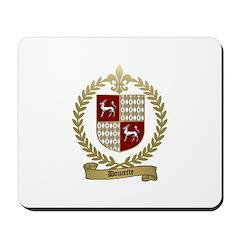 DOUCETTE Family Crest Mousepad