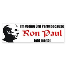 Ron Paul Bumper Bumper Sticker