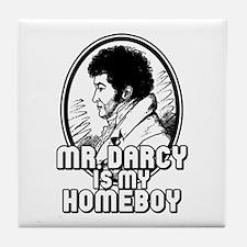 Mr. Darcy Tile Coaster