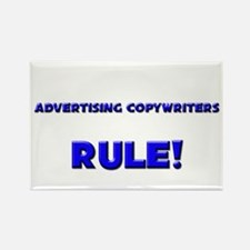 Advertising Copywriters Rule! Rectangle Magnet