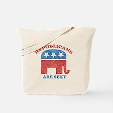 Republicans are Sexy Tote Bag