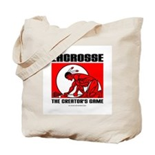Lacrosse-DrawMan Tote Bag