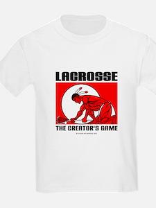 Lacrosse-DrawMan Kids T-Shirt