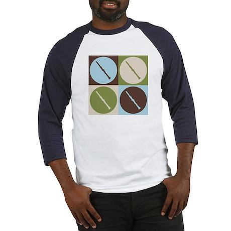 Clarinet Pop Art Baseball Jersey